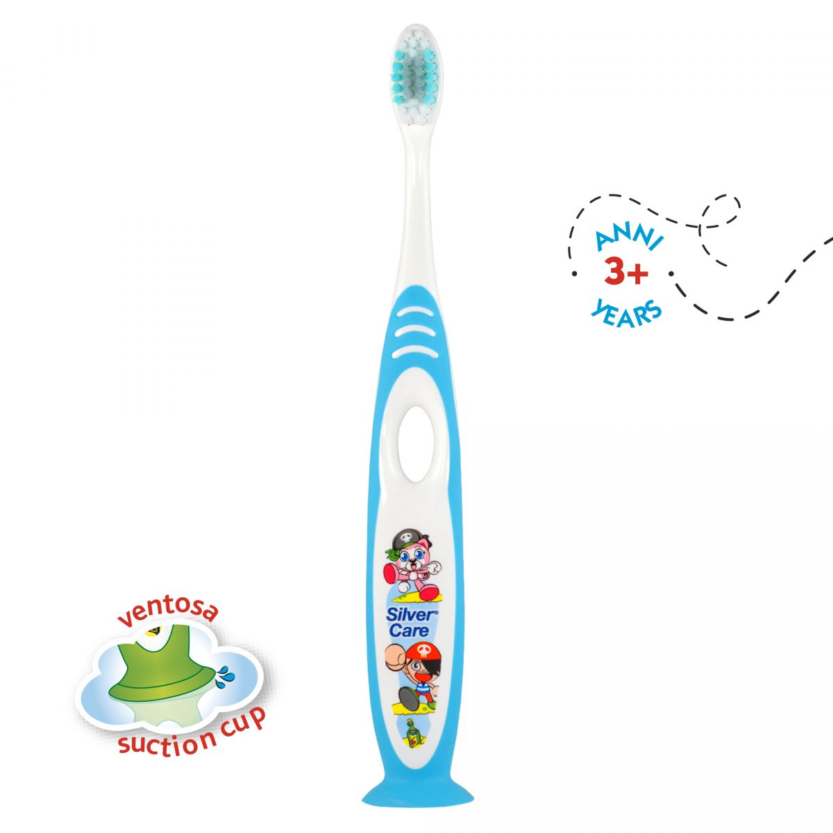 SPAZZOLINO KID'S BRUSH